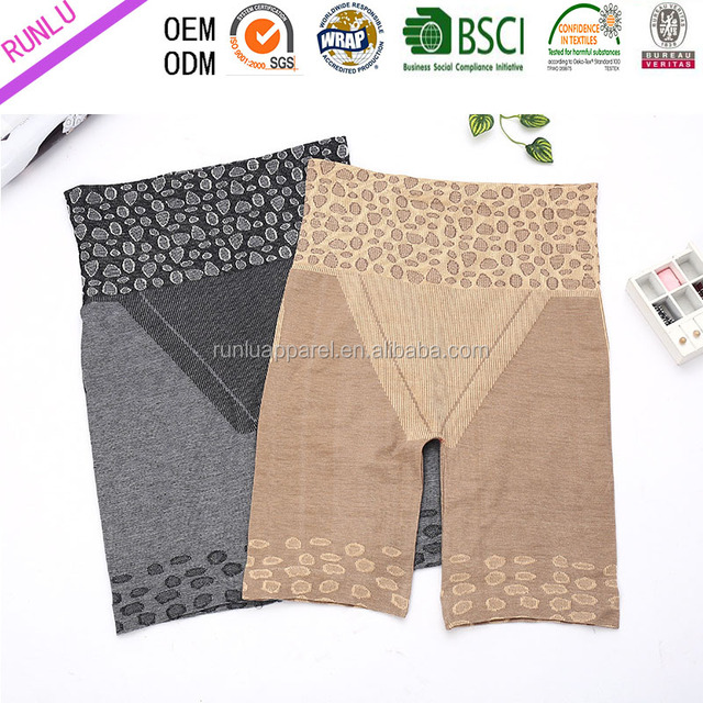 Lady's new design seamless body control shaperwear shorts