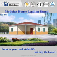good looking modular luxury homes/low cost prefabricated house with rainshed/Chile welcomed small villa
