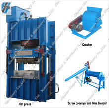 High quality Compressed wood pallet making machine press molding machine