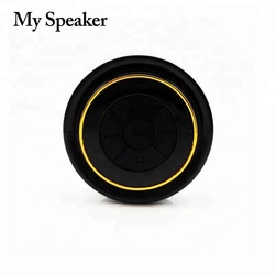 2015 christmas new hot items for phone accessories bluetooth ball speaker water bottle speaker with suckers