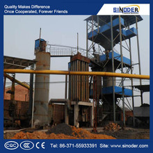 biomass gasifier power plant used in nonferrous metal industry and other industries.