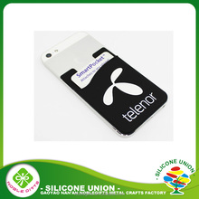 Good price mobile phone accessories,silicone smart phone case card holder accessory