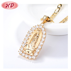 fashion jewelry gold plated pendant custom charms for necklace pendant