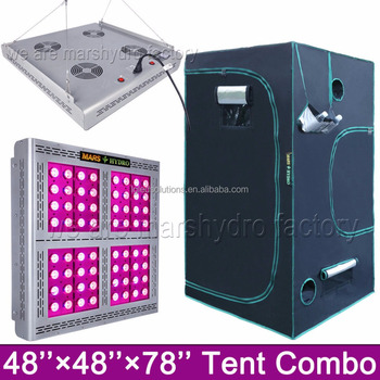 full spectrum led grow light & grow tent hydroponics grow kit replace 1000w HPS/MH