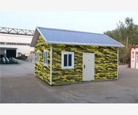 movable sandwich marine portable prefab house for sale