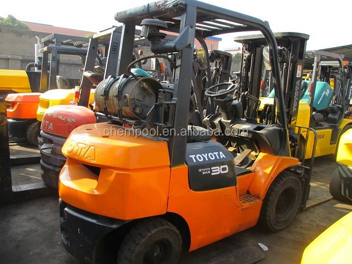 Used forklift trucks used Toyota for sale, 1 ton -30ton