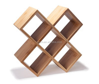 Wholesale 2015 New Styles Barware Bamboo Christmas Wine Bottle Holder for 5 Bottles
