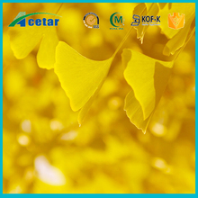 Hot sale anti-cardiovascular ginkgo biloba extract with Flavonoids glycosides, Terpene lactones, Bilobalides