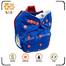 Best price adjustable reusable washable sleepy cloth baby diaper for sale