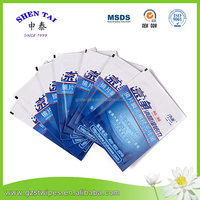 OEM Glass / Screen cleaning wet wipes