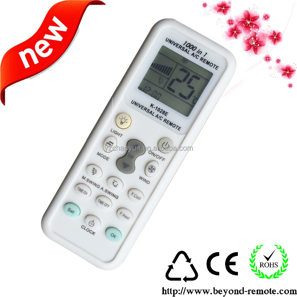K-1028E air conditioner universal remote control