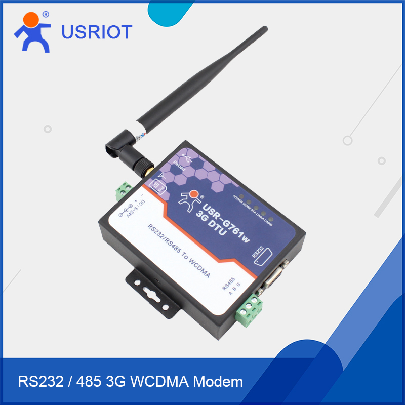 2017 WCDMA Modems 3G GPRS to Serial RS232 RS485 with SMS HTTPD