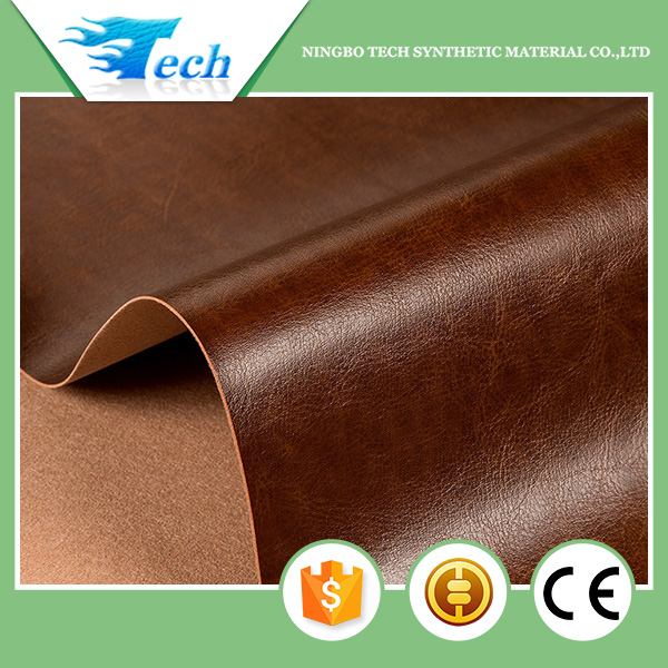 Alibaba Trade Assurance 100% pu leather material book cover synthetic leather for packaging notebook album