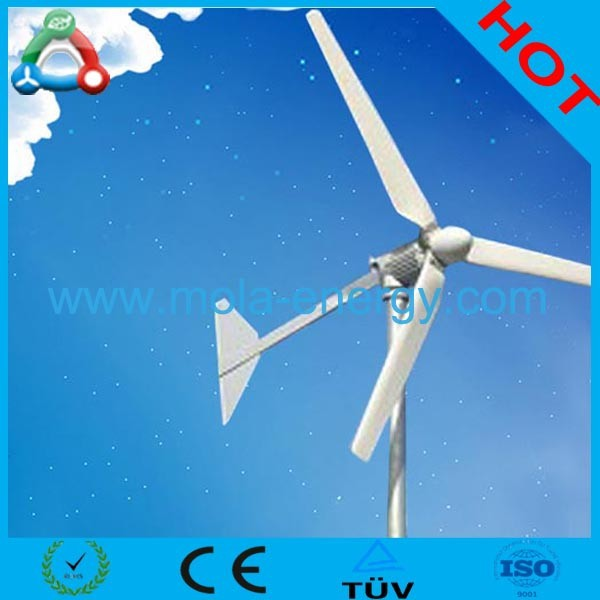 300W Wind Generator Alternator Wind Energy 3 Blades / 6 Blades On Optional