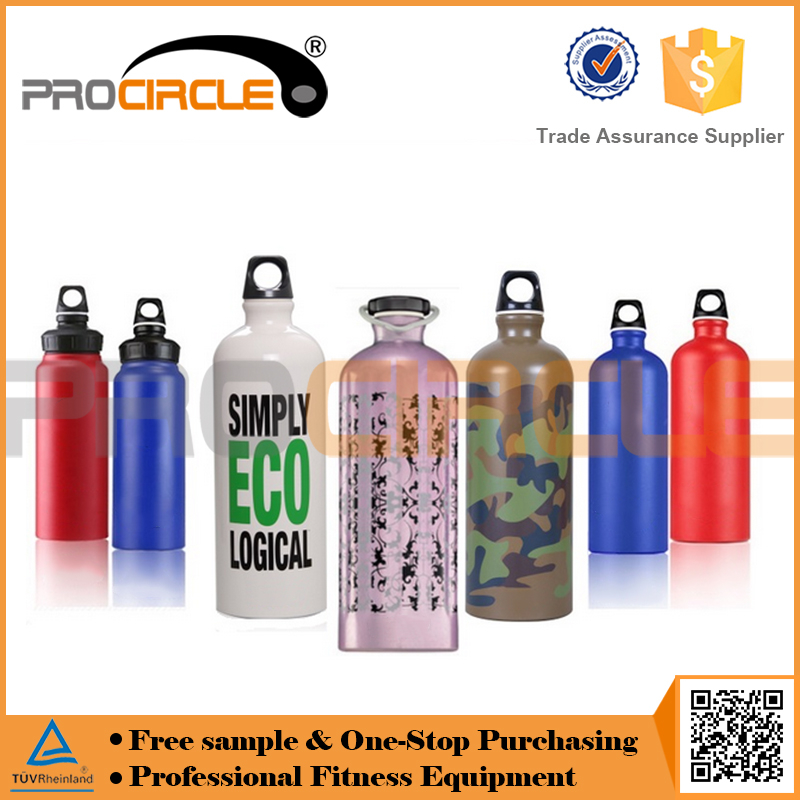 Design Stainless Steel Thermal Aluminium Sport Water Bottle With Carabiner