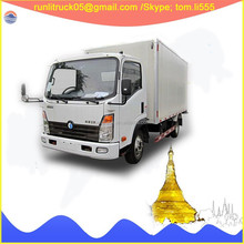 Alibaba china supplier for China sinotruk CDW CDW2040HA1P4 left hand drive 6 wheeler light truck 2 ton sale