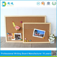 Lanxi xindi wood frame decorative wood message boards cork boards