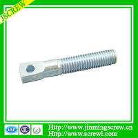 Customized special head diameter m8 bolt with hole in head
