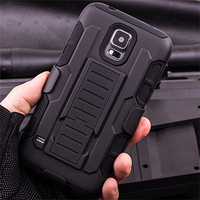 Rugged Armor Hard Case Cover For Samsung Galaxy S5 mini