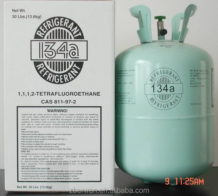 gas for ac compressor <strong>R134</strong>