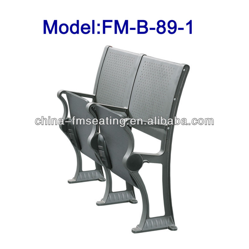Folding school desk and chair for university FM-B-89-1