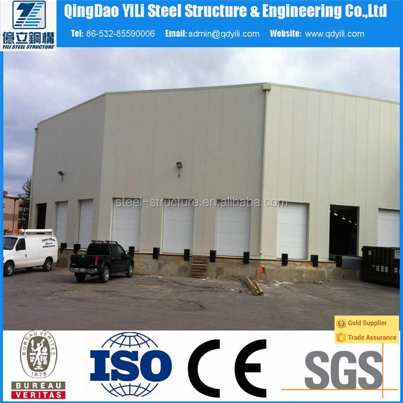 low cost industrial shed / prefabricated storage warehouse shed