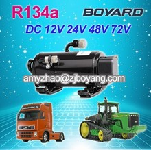 boyard r134a electric car ac compressor for truck cab sleeper air conditioner