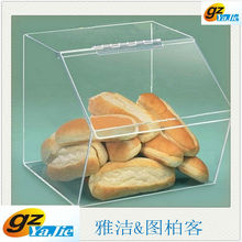 2013 top quality acrylic boxing glove display case excellent