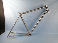 OEM fixed gear frame titanium bike frame