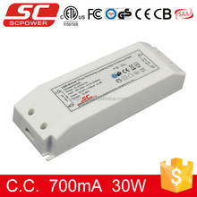 KI-45700-TD triac dimmable 30w constant current led driver 220v