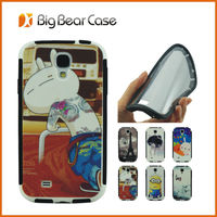 Shockproof funny case for samsung galaxy s4 i9500