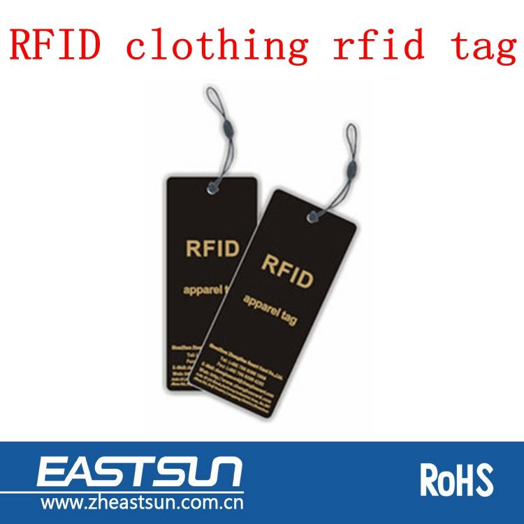 Custom hang passive clothing rfid tag, View clothing rfid ...