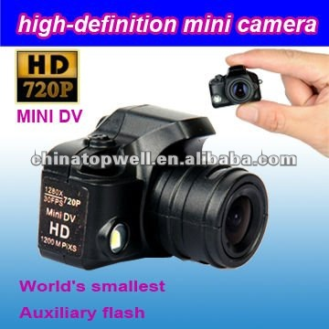 2012 Newest 5.0 Mega 1280*720 720P Mirco Digital Camera with Flashlight