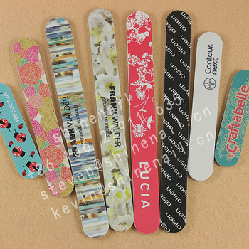 manufacturer supply promotional custom printed nail file