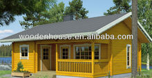 Low cost prefab wooden house