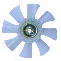 air cooling fan S4F 30648-50500 4 holes 8 blades plastic fan blade