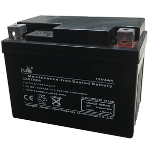 YTX4A 12V4AH Maintenance Free Dry Charged Motorcycle battery