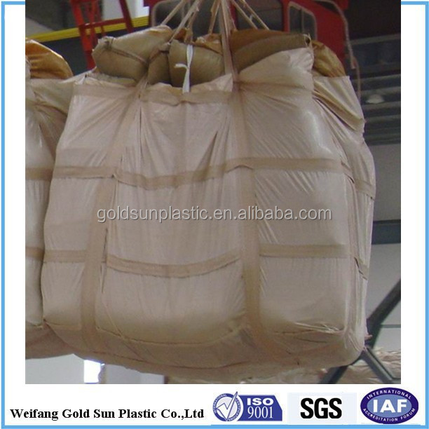 polypropylene baffle big bag for transfer goods in 1 ton 1.5ton 2 tonpp big bag
