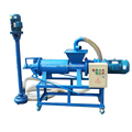 Animal husbandry cow dung dewatering machine