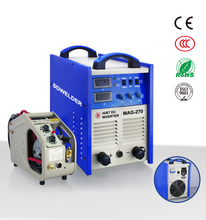 Brazil style CO2 IGBT MAG 270 inverter DC mag welding machine