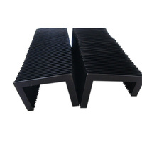 linear motion guide rubber bellows dust cover for plasma cutting