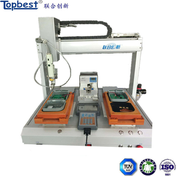 High speed automatic screwdriver Machine with 2 Working Station