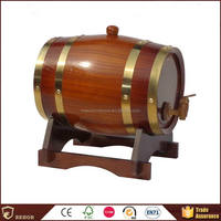 Factory in Beijing China top quality wooden whiskey/wine barrel