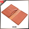 Tanned Travel Leather Passport Wallet Holder