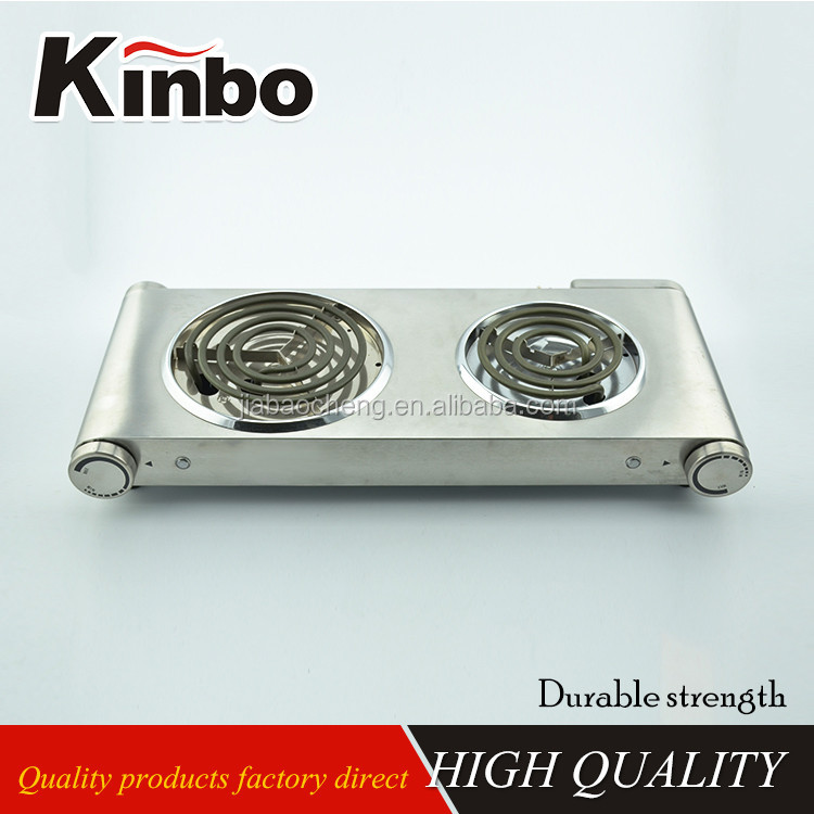 Electric hot plate 2-burner electric stove Spiral cooking hot plate
