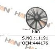 Putzmeister fan OEM 444176 a joint venture electronic radiator fan concrete pump spare parts