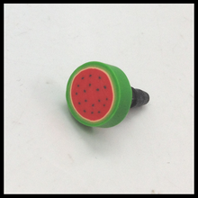 New Arrival 3.5mm Fruits Style Dust Plug For Cellphone/Ipad / Ipod Touch