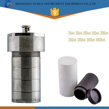 Laboratory 25ml Mini Stainless Steel Pressure Vessel with PTFE Liner