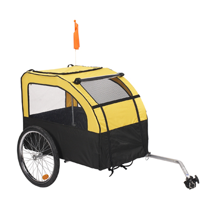 Pull Behind Wagon Pet Bicycle Trailer