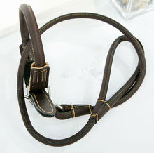 New style pet products for leather pet lead, leather cat leash/Personalized Functional Durable Real Leather dog leash